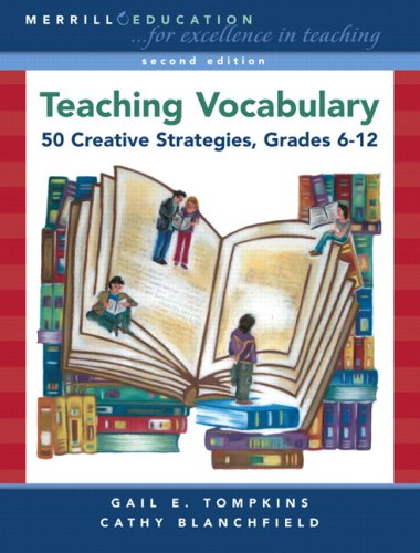 9780132405034: Teaching Vocabulary: 50 Creative Strategies, Grades 6-12 (2nd Edition)