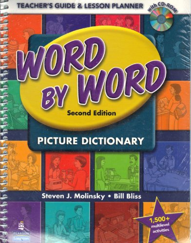 9780132405218: Word by Word Picture Dictionary: Teacher's Guide & Lesson Planner, 2nd Edition (Book & CD-ROM)