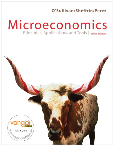 9780132405256: Microeconomics: Principles and Applications, and Tools, with MyEconLab and EBook 1-Sem Package (5th Edition)