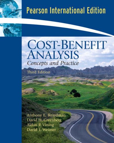 9780132405607: Cost Benefit Analysis: Concepts and Practice