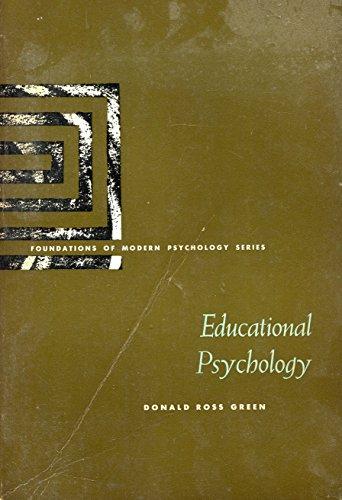 9780132405720: Educational psychology (Foundations of modern psychology series)