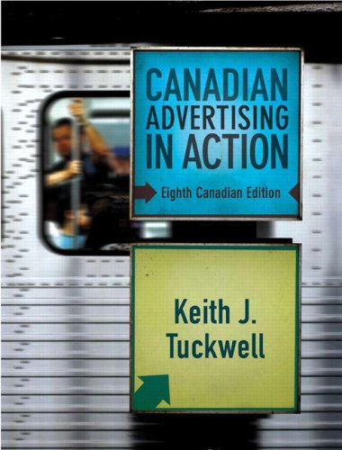 9780132405744: Canadian Advertising in Action (8th Edition)
