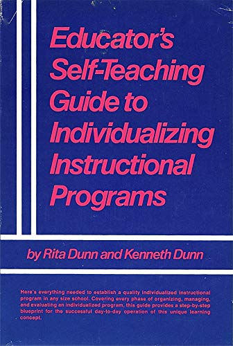 9780132406635: Educator's self-teaching guide to individualizing instructional