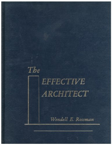 9780132407540: The Effective Architect
