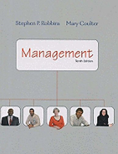 Management (9th International Edition): Stephen P. Coulter