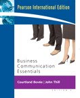 Business Communication Essentials: Bovee & Thill