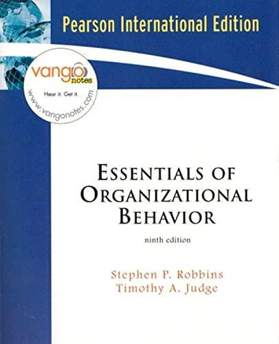 9780132408837: Essentials of Organizational Behavior