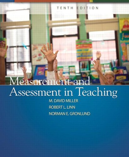 9780132408936: Measurement and Assessment in Teaching (10th Edition)