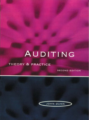 9780132408967: Auditing: Theory and Practice