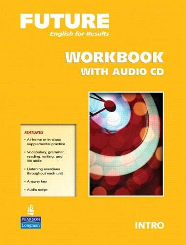 9780132409261: Future Intro Workbook with Audio CDs