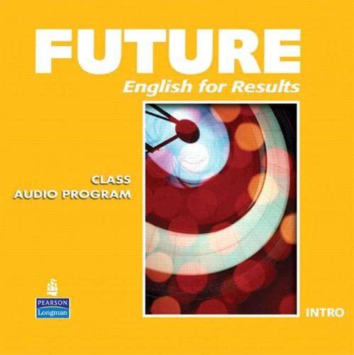 9780132409278: Future Intro Class Audio CDs (6)