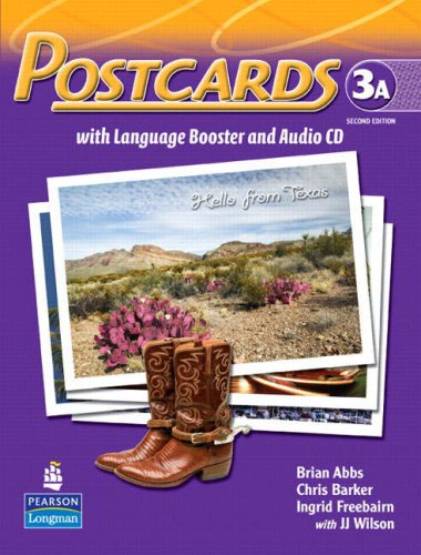 9780132409759: Postcards Student Book A with CD: With Language Booster Level 3A