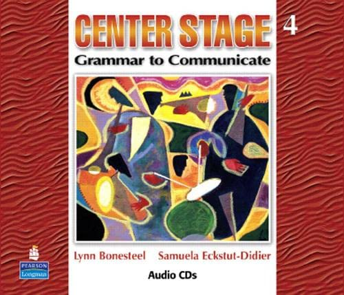 9780132409995: Center Stage 4: Grammar to Communicate, Audio CD