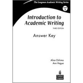 9780132410281: Introduction to Academic Writing: Answer Key