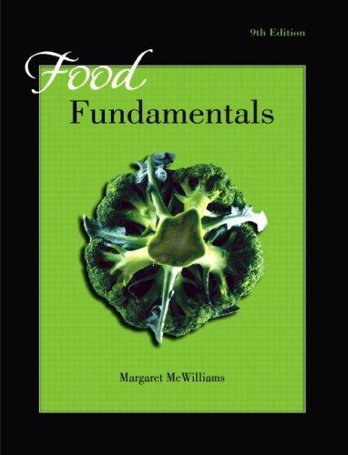 9780132412353: Food Fundamentals (9th Edition)
