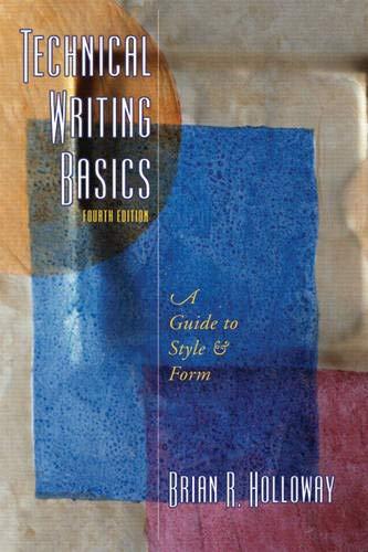 9780132412551: Technical Writing Basics (4th Edition)