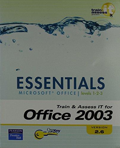 9780132412766: TAIT Essentials Office 2003 - Version 2.6