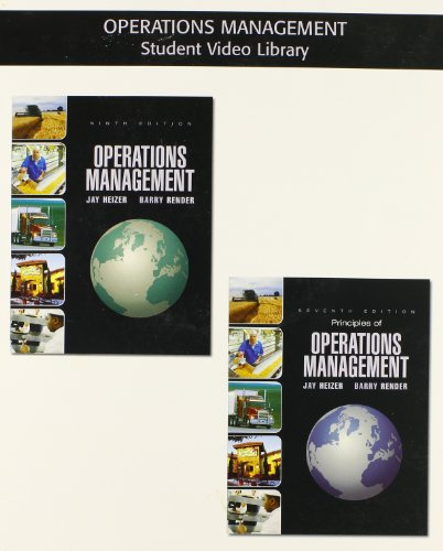 9780132412896: Student DVD - OM Library for Operations Management