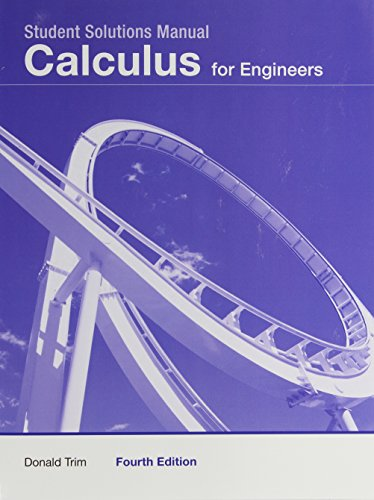 9780132413299: Student Solutions Manual -- Calculus for Engineers