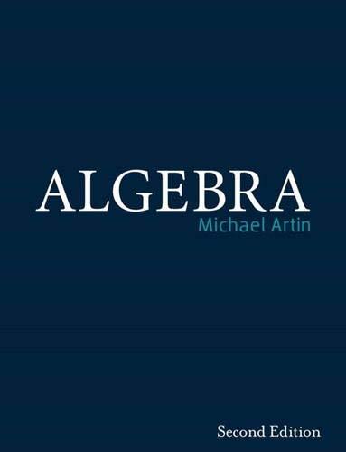 9780132413770: Algebra (2nd Edition)