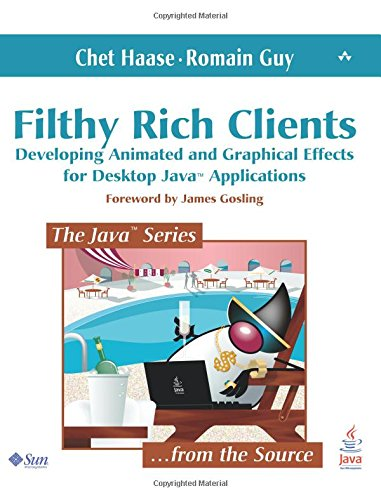 9780132413930: Filthy Rich Clients: Developing Animated and Graphical Effects for Desktop Java Applications