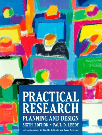 9780132414074 Practical Research Planning And Design Abebooks Paul D Leedy Timothy J