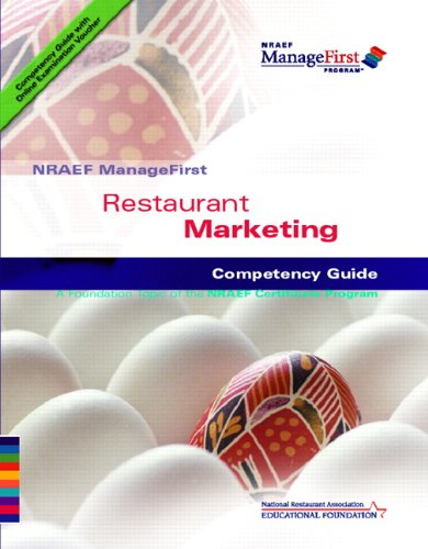 9780132414609: NRAEF ManageFirst: Restaurant Marketing with On-line Testing Access Code Card