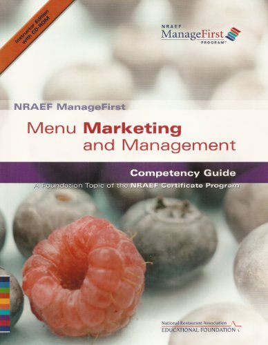 NRAEF ManageFirst: Menu Marketing and Management: Competency Guide: A Foundation Topic of the NRAEF...