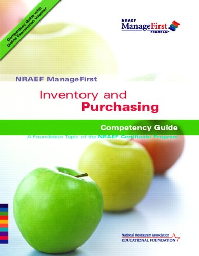 9780132414661: NRAEF ManageFirst: Inventory and Purchasing w/ On-line Access Testing Code Card