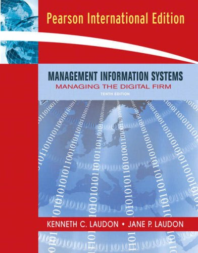 9780132415798: Management Information Systems: Managing the Digital Firm