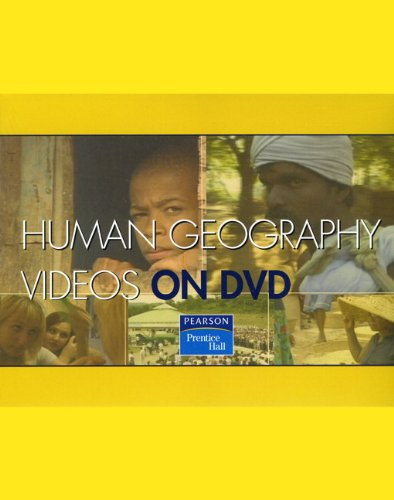 9780132416566: PH Human Geography Videos on DVD