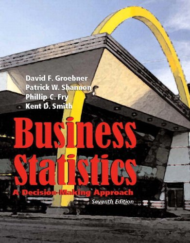 9780132416924: Business Statistics: Decision Making