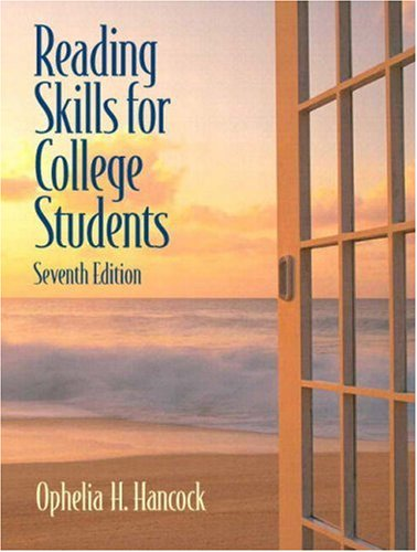 9780132418133: Reading Skills for College Students