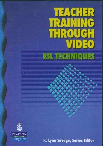 9780132418447: Teacher Training Through Video: ESL Techniques (DVD)