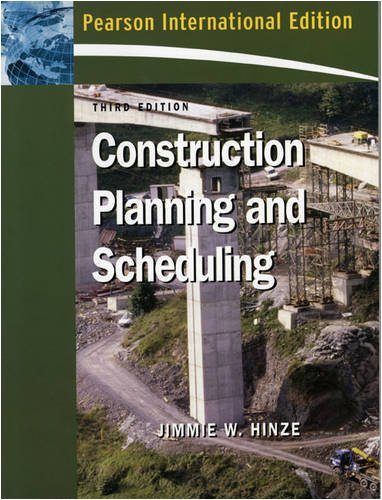 9780132418690: Construction Planning and Scheduling