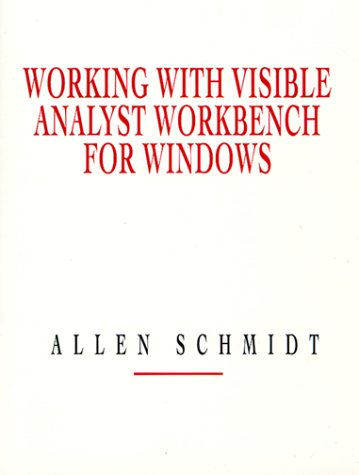 9780132418782: Working with Visible Analyst Workbench for Windows