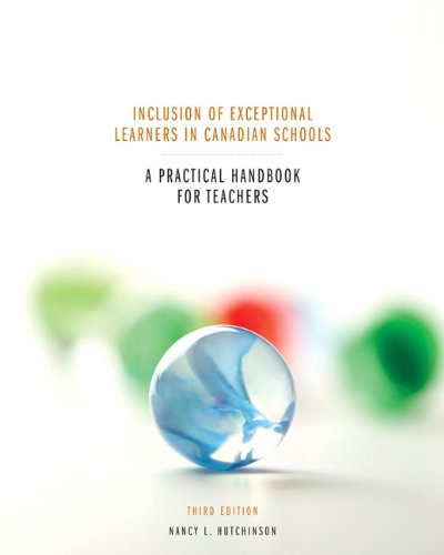 9780132418836: Inclusion of Exceptional Learners in Canadian Schools: A Practical Handbook for Teachers