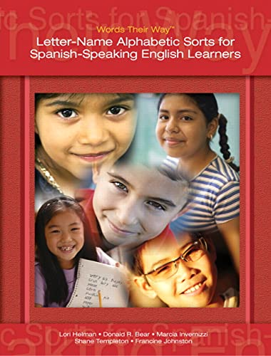 9780132421034: Words Their Way: Letter-Name Alphabetic Sorts for Spanish-Speaking English Learners