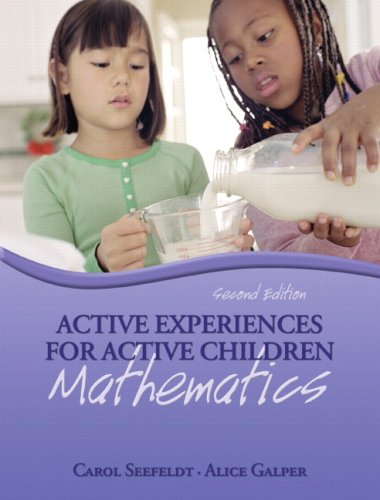 9780132421331: Active Experiences for Active Children: Mathematics (2nd Edition)