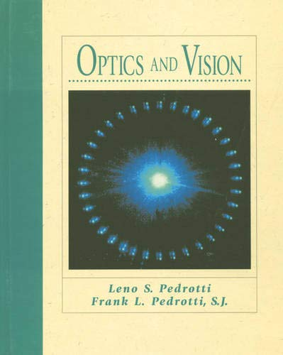 9780132422239: Optics and Vision