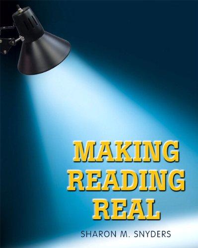 9780132423106: Making Reading Real