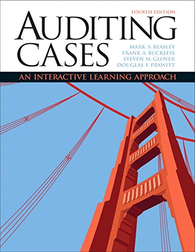 9780132423502: Auditing Cases: An Interactive Learning Approach (4th Edition)