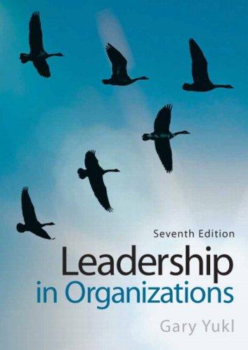 9780132424318: Leadership in Organizations (7th Edition)