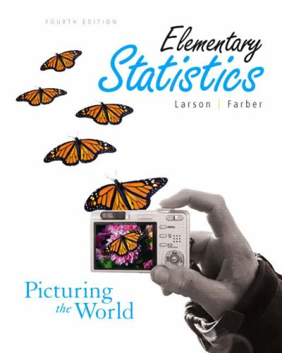 9780132424332: Elementary Statistics: Picturing the World (4th Edition)