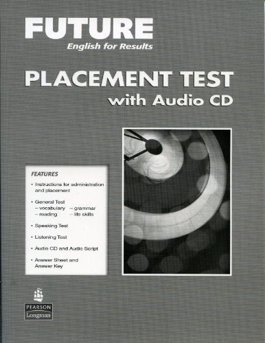 9780132424608: Future English For Results: Placement Test