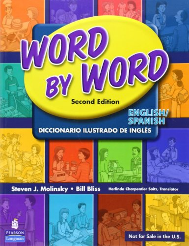 9780132428743: Word by Word English/Spanish Picture Dictionary (English and Spanish Edition)