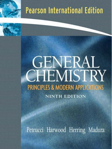 9780132428811: General Chemistry: Principles and Modern Applications