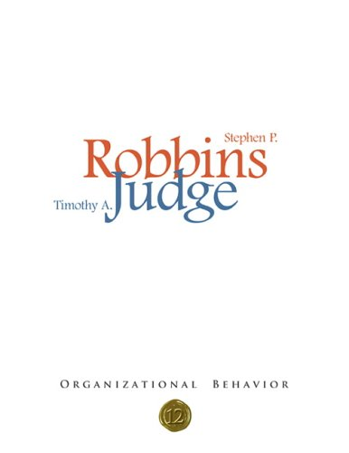 9780132431569: Organizational Behavior, 12th Edition
