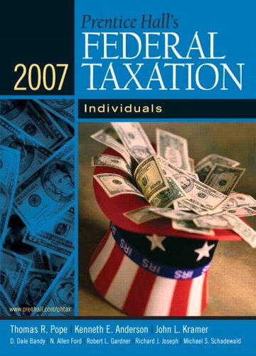 9780132432207: Prentice Hall's Federal Taxation 2007: Individuals (20th Edition) (Prentice Hall's Federal Taxation Individuals)