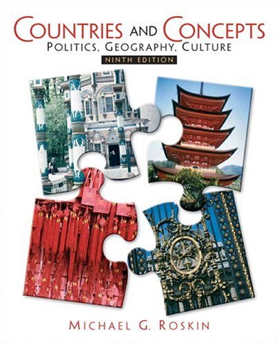 9780132432559: Countries and Concepts: Politics, Geography, Culture (9th Edition)
